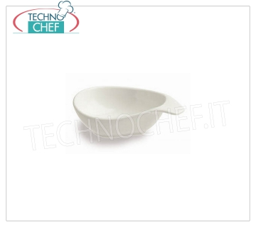 FINGER FOOD BOWL, Colección Mini Party Ivory, Marca TOGNANA FINGERFOOD BOWL, Mini Party Collection Ivory, cm.11X7, marca TOGNANA - Disponible en paquetes de 24 piezas