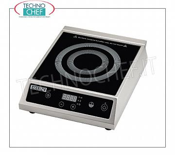 Technochef - PLACA DE INDUCCIÓN para mesa, SUPERFICIE INDUCTIVA Ø de 140 a 220 mm PLACA DE INDUCCIÓN para mesa, SUPERFICIE INDUCTIVA: diámetro de 140 a 220 mm, V. 230/1, Kw 3,5, Peso 8 Kg, dim. mm. 343x440x120h