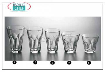 Vasos para agua y vino. VIDRIO, LIBBEY, Gibraltar Twist Collection